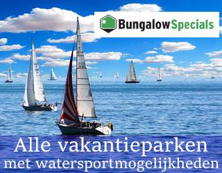 vakantieparken met watersportmogelijkheden banner