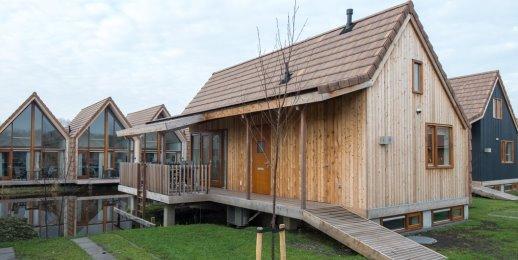 Landal De Reeuwijkse Plassen | 6-pers. waterwoning | Type 6L1 | Reeuwijk