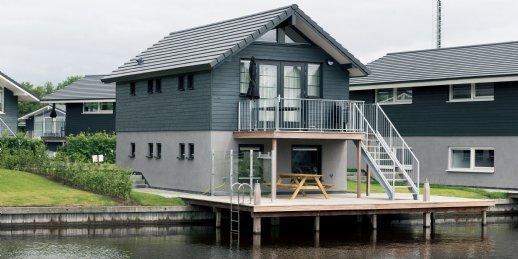 Landal Waterpark Sneekermeer | 6-persoons waterwoning - comfort | type 6C1 | Terherne