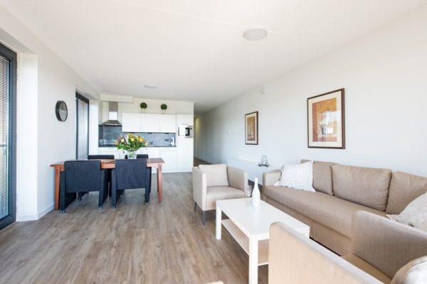 Appartement Uithaven 10 - Nederland - Zeeland - 4 personen - lichte woonkamer
