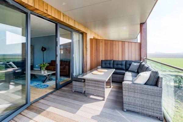 Appartement Uithaven 10c - Nederland - Zeeland - 4 personen - overdekt terras