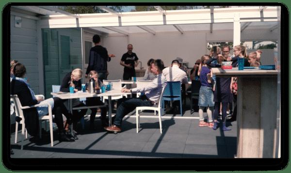 Groepsaccommodatie De Driemaster Zonder TV! - Nederland - Gelderland - 20 personen - gezamenlijke buitenruimte