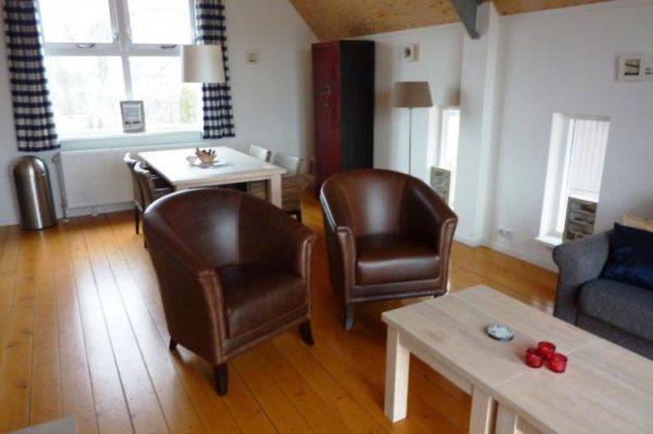 Havenappartement 4 - Nederland - Friesland - 4 personen - woonkamer