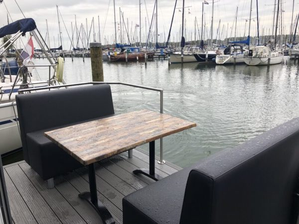 Havenlodge 4 persoons - Nederland - Noord-Holland - terras