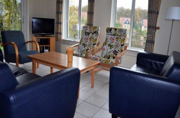 Landhuis DG150 - Nederland - Drenthe - 8 personen - woonkamer