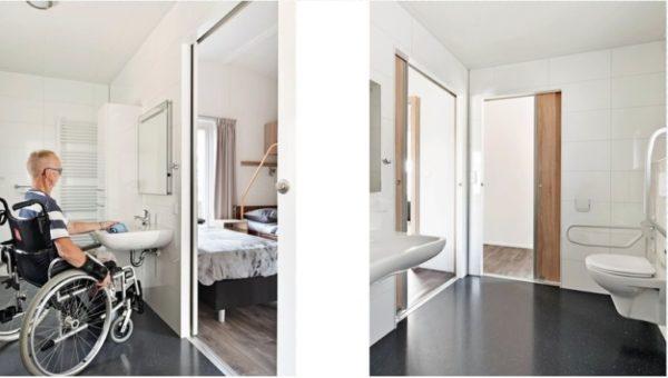 Mindervalide Bungalow - Nederland - Gelderland - 4 personen - aangepast toilet