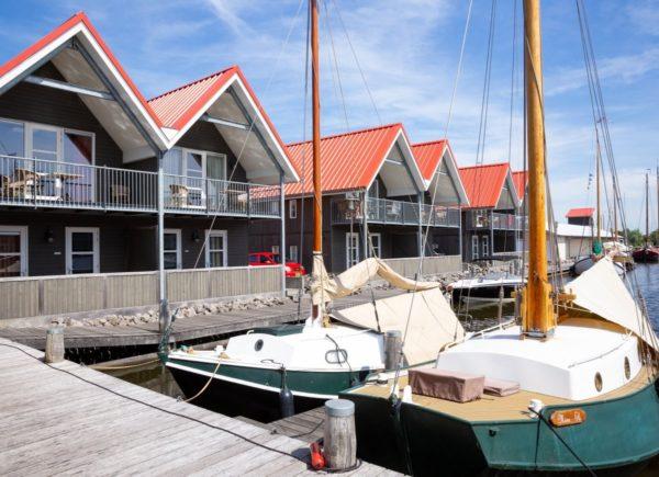 Mindervalide Havenwoning 4 - Nederland - Friesland - 4 personen - aanlegsteiger