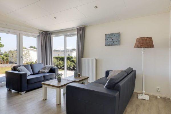 Strandhuis 6p - Nederland - Gelderland - 6 personen - lichte woonkamer