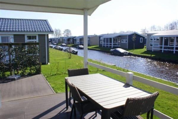 Chalet Meerkoet 4 - Nederland - Overijssel - 4 personen - terras
