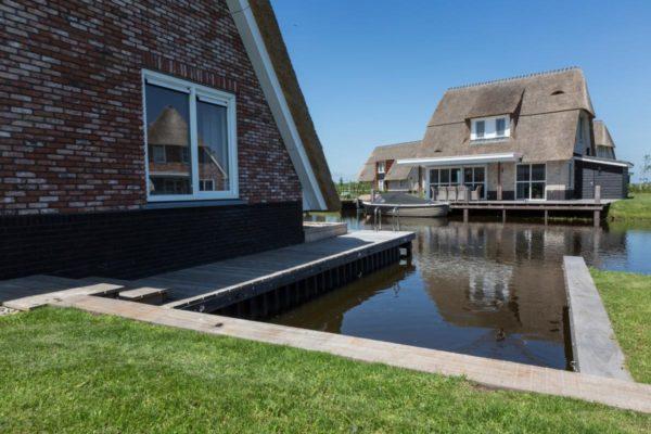 Villa FR050 - Nederland - Friesland - 8 personen - prive aanlegsteiger