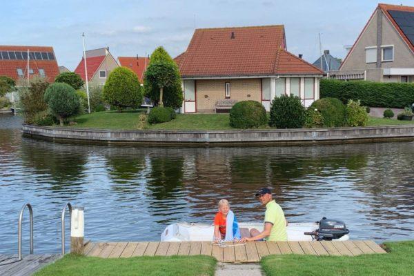 Villa FR061 - Nederland - Friesland - 6 personen - prive aanlegsteiger
