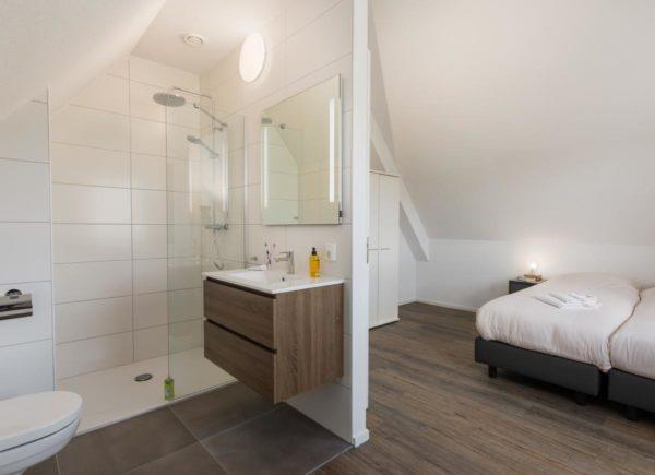 Villa OV146 - Nederland - Overijssel - 4 personen - slaapkamer en badkamer
