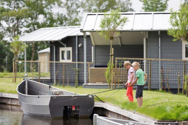 Watercottage 4 - Nederland - Friesland - 4 personen - vissen vanuit de tuin