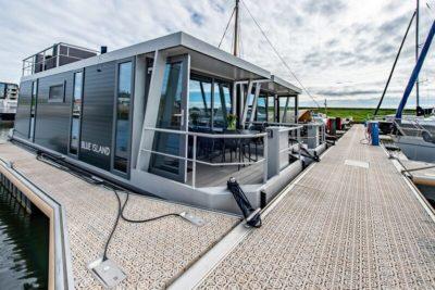 Waterlodge Blue Island - Nederland - Zeeland - 4 personen - drijvende bungalow