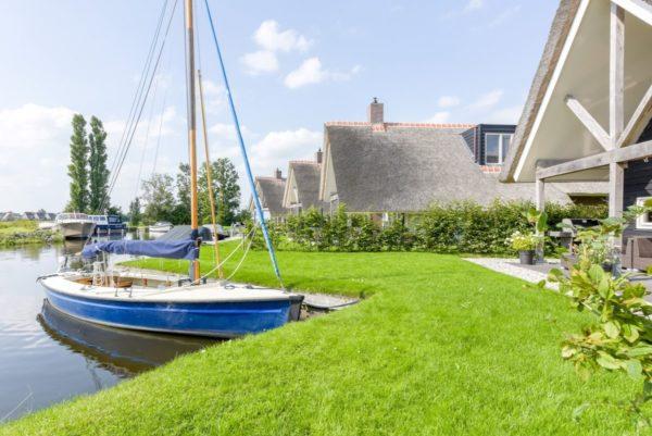 Watervilla 6 - Nederland - Friesland - 6 personen - aanlegsteiger