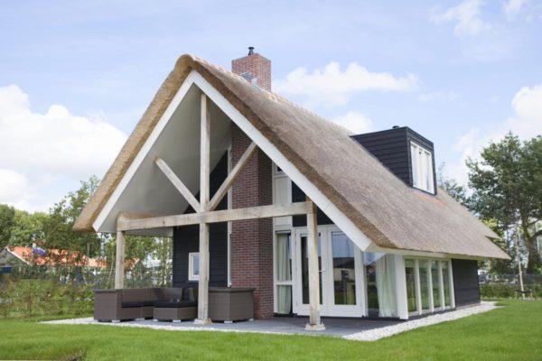 Watervilla 6 - Nederland - Friesland - 6 personen - tuin met terras
