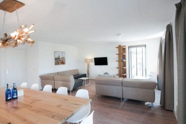 Villa Oesterdam 12 - Nederland - Zeeland - 12 personen - moderne woonkamer