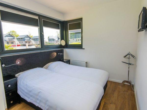 Watervilla 4-6C Sneekermeer - Nederland - Friesland - 6 personen - slaapkamer