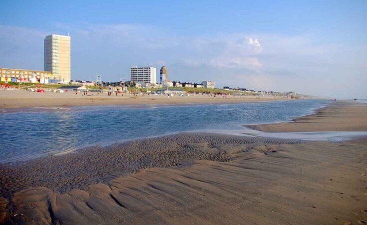 Zandvoort aan zee stand