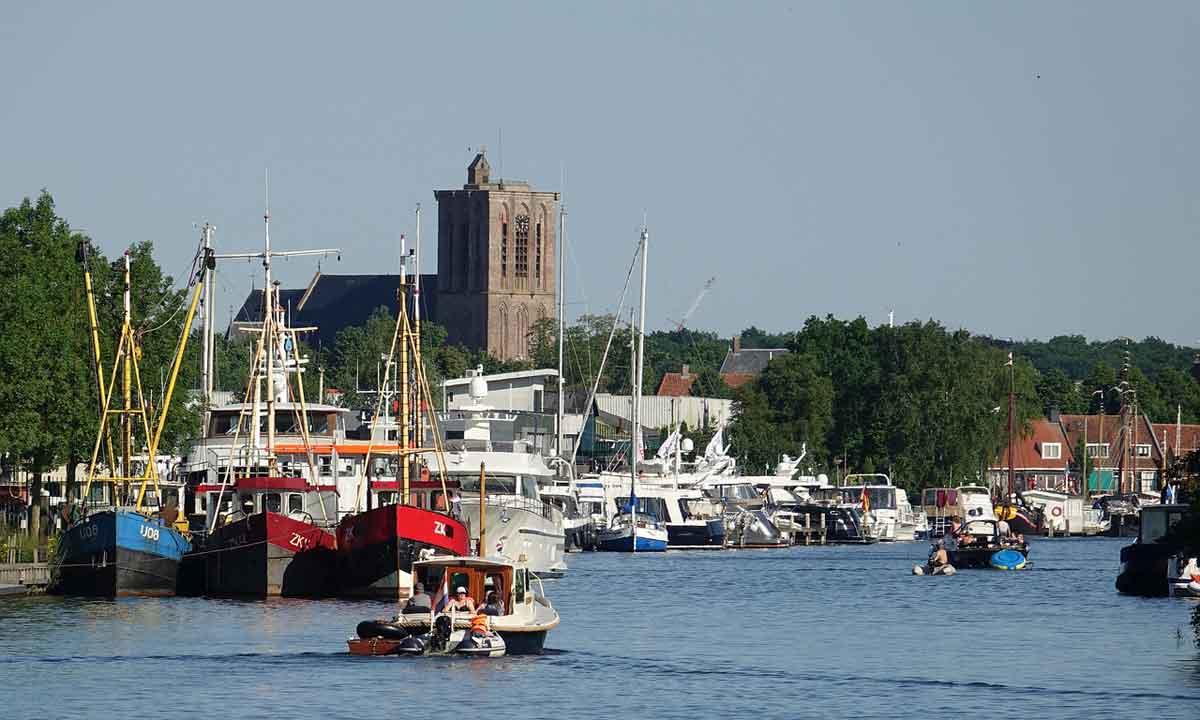 Haven van Elburg aan het Veluwemeer
