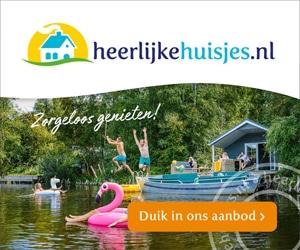 heerlijke huisjes aan het water banner