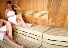 watervilla met sauna