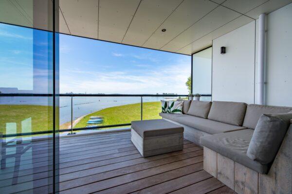 Appartement Veerse Muze 7e - Nederland - Zeeland - 4 personen - terras met uitzicht